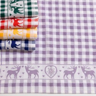 Handtuch Küchentuch Geschirrtuch Herka-Frottier Baumwolle cotton terry towel kitchen Made in Austria