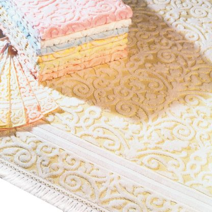 Handtuch Arcade mit Franse Herka-Frottier Romantik Bad terry towel fringe