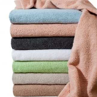 Handtuch Fluffy Zero Twist Herka-Frottier Klassik Bad terry towel stapel