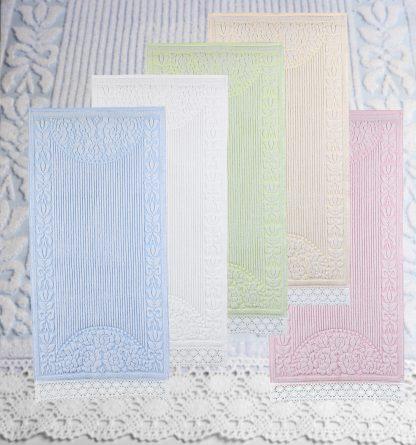 Handtuch Doria Klöppelspitze Streifenoptik Bad Herka-Frottier Baumwolle cotton terry towel pillow lace Made in Austria