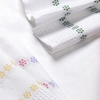 Handtuch Küchentuch Geschirrtuch Pikee Pique Herka-Frottier Baumwolle cotton terry towel kitchen textile Made in Austria