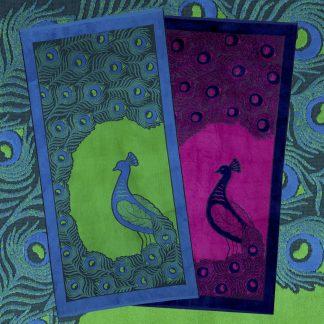 Handtuch Pavone Jacquardeinwebung Pfau Strandhandtuch Luxus Herka-Frottier Baumwolle cotton beach terry towel made in Austria