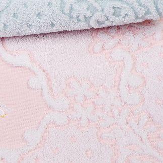 Handtuch Victoria ohne Stick HERKA-Frottier Bad Geschenke Souvenir Gästetuch Baumwolle cotton terry towel bath gift sustainable Frottee Nachhaltigkeit