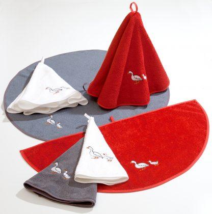 Handtuch Küchentuch Ibiza von Herka-Frottier klassisches Baumwollbadehandtuch Badvorleger