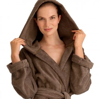 Ibiza Bademantel Herka-Frottier terry towel bath robe cotton baumwolle