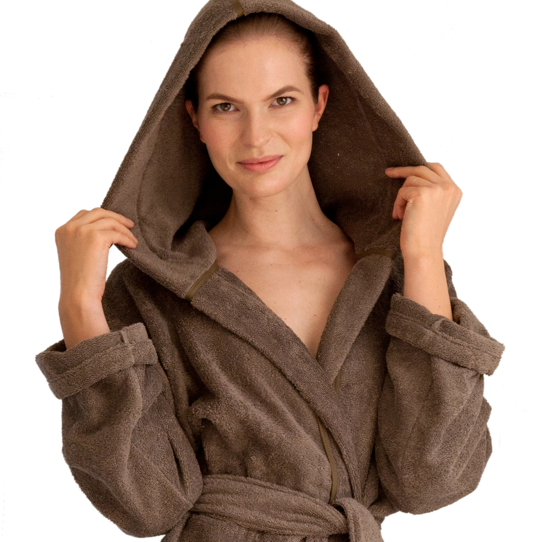 9eae59b790a191 Ibiza Bademantel Herka-Frottier terry towel bath robe cotton baumwolle