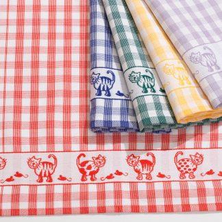 Kitty I Küchentuch Geschirrtuch Baumwolle Herka-Frottier cotton kitchen terry towel Made in Austria