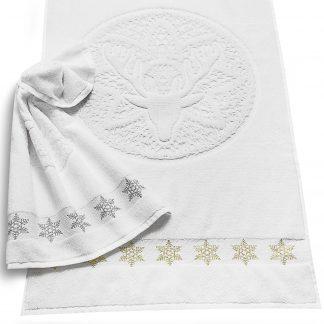dream-land-weihnachten-handtuch-herka-frottier-terry-towel-cotton-christmas-deer-baumwolle