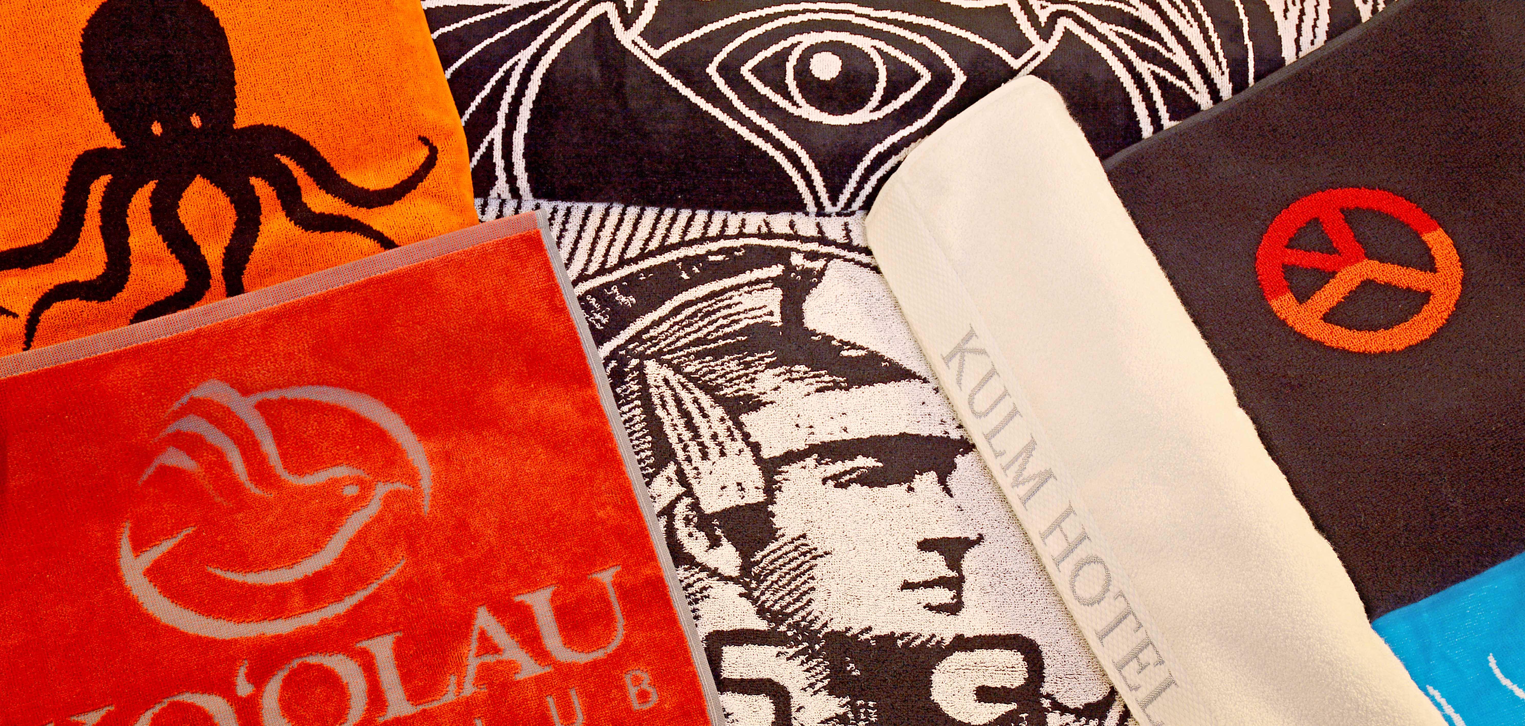 Handtuch Promotion Werbetuch Herka Frottier Einwebung Jacquard Relief Hoch Tief Bordüre Stick terry towel inweaving cotton Baumwolle
