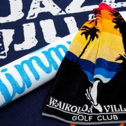 Handtuch Promotion Herka-Frottier Werbung Einwebung Jacquard terry towel cotton Jimmy Einwebung