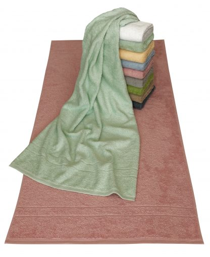 Handtuch Signet Klassik Handtuch Bad Herka-Frottier Baumwolle terry towel cotton bath classic