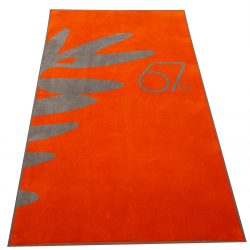 Handtuch Velour Baumwolle Herka-Frottier Promotion Werbung terry towel cotton Cannes