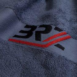 Handtuch Promotion Werbung Bordüre BRZ Baumwolle Jacquard Einwebung Herka-Frottier cotton terry towel made in Austria