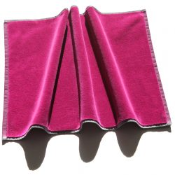 Handtuch Velours pinker Schattenwurf Herka-Frottier Baumwollfrottier cotton terry towel made in Austria